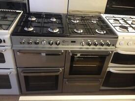 8 Burner silver cooker