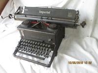 Imperial Typewriter, vintage