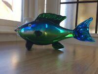 Coloured glass fish