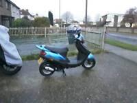 Sym city hopper 50cc 2 stroke 1 year mot