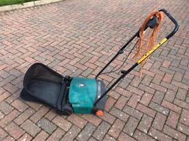 Electric lawn raker/dethatcher