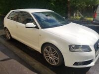 2012 Audi A3 S line, TFSI, excellent condition, 2 owners, full service history.