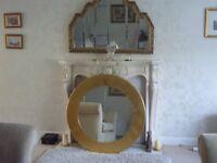 large modern mirror