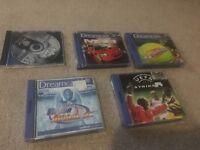 Sega dreamcast games msr, power stone, virtual tennis etc