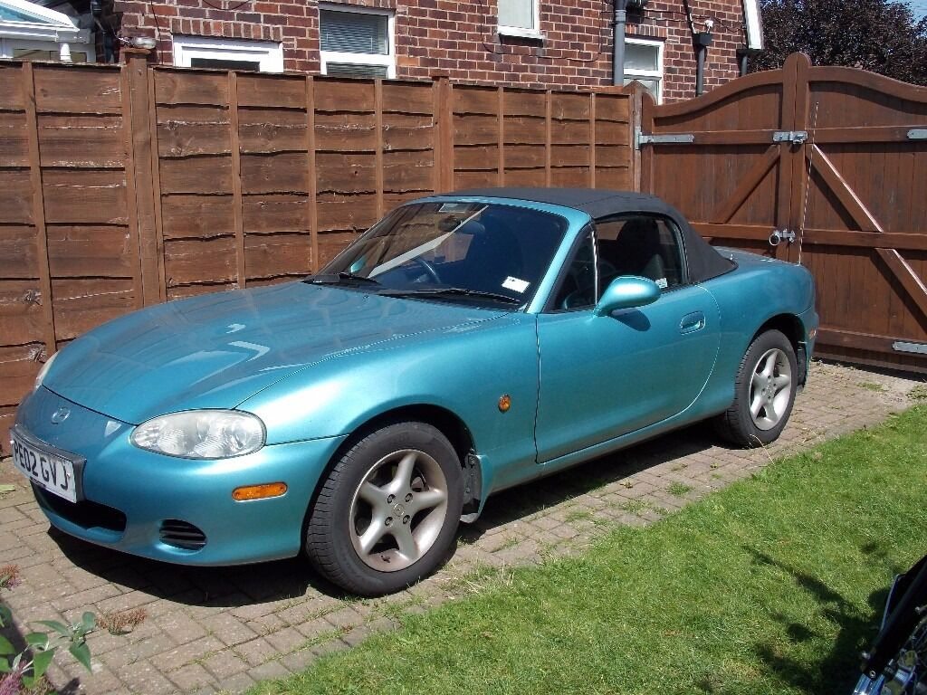 mazda mx 5 1 8 mk2 crystal blue mx5 in handforth. Black Bedroom Furniture Sets. Home Design Ideas