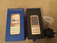 Nokia C3-01 gold edition - touch and type mobile - Boxed