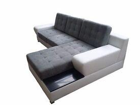 Delivery 1-3 days Brand New Packed BOSTON Corner Sofa Bed Sofa Corner Sleep Function and Storage