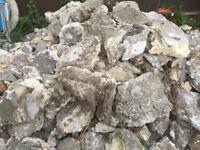 Free hardcore / concrete rubble to collect