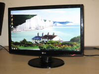 LG 23 inch widescreen Monitor.
