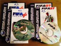 Sega Saturn Retro/Vintage Games - FIFA 96 and 97