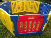 Childs or puppy playpen 7 panel large very sturdy playpen