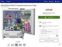 Kenwood integrated under counter fridge