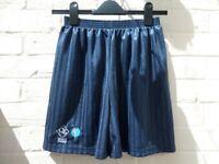 Brand New Queen Elizabeth QE School Uniform Girls Blazer Navy PE Shorts School Trends Size 34/36