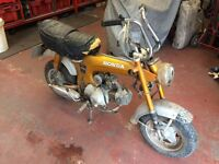 Honda Monkey Bike parts wanted