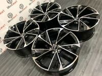 """BRAND NEW 19"""", 20"""", AUDI STYLE ALLOY WHEELS -ALSO AVAILABLE WITH TYRES - 5x112-"""