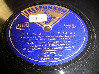 3/1 Karl Schmitt Walter - Es war einmal -  - Schlösser,die im Monde liegen