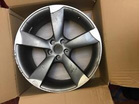"Audi 20"" rotor wheel"