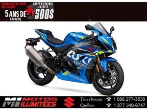 2018 Suzuki GSX-R1000R ABS 500$ d'essence Garantie 5 ans*