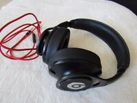BEATS EXECUTIVE WIRED HEADPHONES BLACK