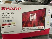 "Sharp 40"" Smart 4K Ultra HD HDR LED TV"