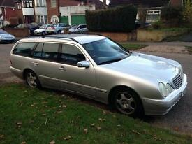Mercedes E240, 7 Seater Estate.
