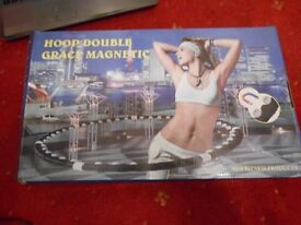 Professional Hula Hoop Magnetic Fitness Exercise Hoop - New in Box
