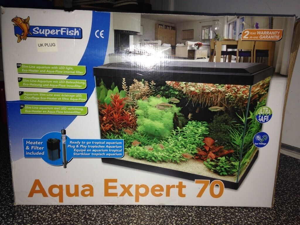 Fish Tank - Aqua Expert 70   in Trinity, Edinburgh   Gumtree