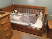 Weekend offer only - oak nursery furniture set