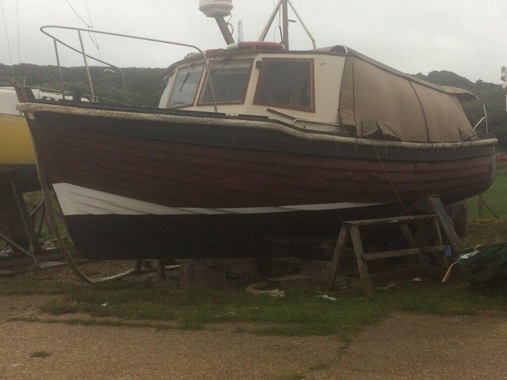 24ft lower boat