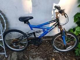 BMX Bike 5 speed & dual suspension