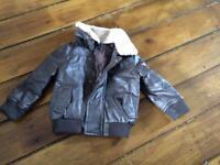 Minoti flight jacket 6-12 months