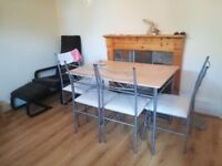 Dining Table + 4 Chairs for Sale