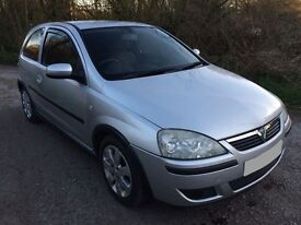 Vauxhall corsa c 12 month M.O.T