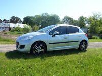 Peugeot 207 VTi s, 2010, 10 months MOT, economical and cheap insurance + tax, 2 sets of wheels