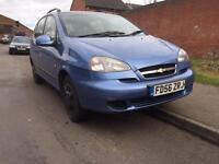 Chevrolet tacuma sx 1.6 2006 - drives mint - MOT&TAX - not opel mpv estate ford Vauxhall laguna