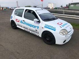 Renault Clio 172 race / track car good spec