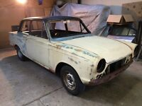 Ford Cortina GT Mk1 For total Restoration Barn find project Race Road Rally LAST REDUCTION