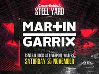 Martin garrix Steelyard 25th novemeber