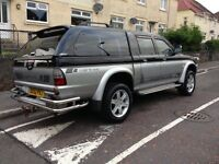 Mitsubishi l200 animal, 52 reg, mot 1 year! Genuine 65k miles! Great runner £2295 kilmarnock l@@k!!