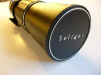SOLIGOR TELEPHOTO LENS VERY GOOD CONDITION