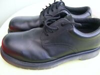 doc martin steel toe cap shoes size 8 industrial garage workshop