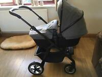 Silver Cross Pioneer Special Edition Eton Grey Travel System