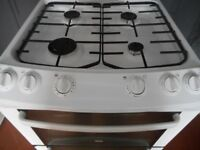 ZANUSSI DOUBLE OVEN ALL GAS COOKER**AS NEW**