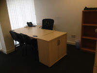 Office space to let close to luton town centre