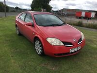 03 REG NISSAN PRIMERA 2.2 DCI SVE 5DR-CHEAP RUN ABOUT-DRIVES WELL BUT PAINT FADED