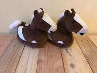 Horse slippers.