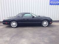 2002 Ford Thunderbird Evening Black, Two Tops, Flawless!!!