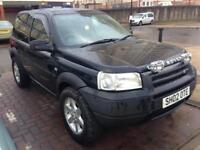 NICE FREELANDER WITH BIG OFF-ROAD TIRES PLUS SPOT LIGHTS MAY SWAP PX