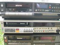 3 sony betamax video recorders £20 each