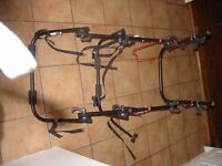 Three bicycle car rack - good condition - little used